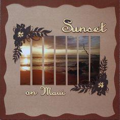 Layout: Sunset on Maui