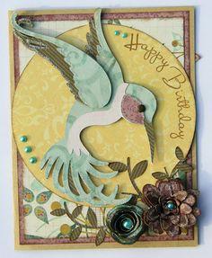 Happy Birthday Hummingbird (using Art Nouveau and Art Philosophy) - Lee-Ann