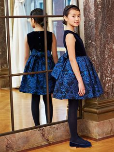 oscar de la renta - fall/winter 2015 childrenswear collection