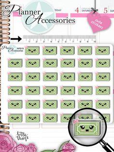 Sticker - Kawaii Payday Sticker NR919 - ein Designerstück von PlannerAccessories bei DaWanda