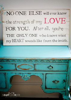 so sweet for a baby's room.