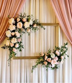 Try something special with these dusty rose wedding ceremony backdrop with blush. Try something special with these dusty rose wedding ceremony backdrop with blush and white flowers, spring weddings, sum. Stage Decorations, Bridal Shower Decorations, Diy Wedding Decorations, Wedding Ideas, Wedding Pictures, Wedding Planning, Budget Wedding, Wedding Themes, Wedding Centerpieces