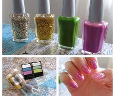 how to make nail polish: add a few 4.5mm BBs (aka: nail polish mixing beads)  to shake and mix the polish easily.