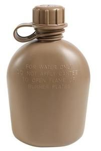 New Coyote Brown Gi Style BPA Free 1 Quart Plastic Canteen Made in The USA | eBay