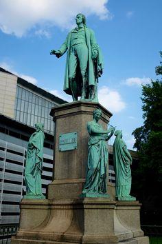 Hamburg-Neustadt: Schiller-Denkmal