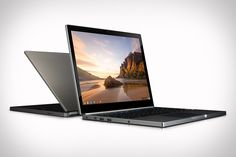 """Google Chromebook Pixel features a 12.85"""" Gorilla Glass multi-touch screen that boasts a 3:2 format and a resolution of 2560 x 1700, giving it 239 PPI. Other features include a dual-core Intel Core i5 processor, 32 or 64GB of onboard memory, 1TB of Google Drive cloud storage, an HD webcam, Dual-band Wi-Fi, Bluetooth 3.0, optional built-in LTE networking, and a sleek machined aluminum body."""