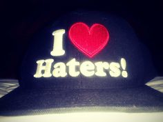 I <3 Haters DGK snapback