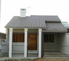 THAIS GREI Facade House, Interior Exterior, Gazebo, Shed, Outdoor Structures, Design, Home Decor, Marvel, Houses