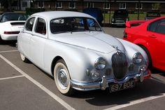 Brooklands - Jaguar Mk 1 Saloon (697 BDE) | Flickr - Photo Sharing!