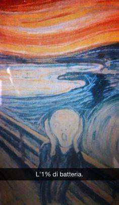 Urlo di Munch - Se i quadri potessero parlare