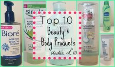 Top 10 Beauty & Body Products under £10   Asia Jade