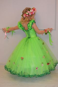 Стена Girls Bridesmaid Dresses, Girls Dresses, Flower Girl Dresses, Fairy Clothes, Doll Clothes, Cute Outfits For Kids, Cool Outfits, Tulle Dress, Dress Up