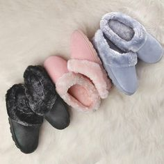 Memory Foam Soft and Furry Slipper - on sale for $5.99 while supplies last.  They are soooo comfy! @http://avon4.me/2poW9ka
