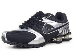 Chaussures Nike Shox R4 Noir  Argent  nike 12270  - €49.97   Nike Chaussure b956964e8