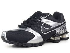 Chaussures Nike Shox R4 Noir/ Argent [nike_12270] - €49.97 : Nike Chaussure Pas Cher,Nike Blazer and Timerland www.facebook.com/... www.topchausmall....