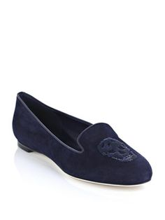 Alexander McQueen skull slippers