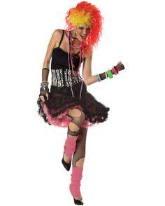 cyndi lauper | :: 1950s 60s 70s 80s Costumes :: 1980's Party Girl Cyndi Lauper ...