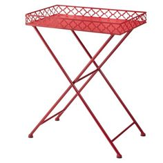 Metal accent table (Target) << would make a perfect bar cart
