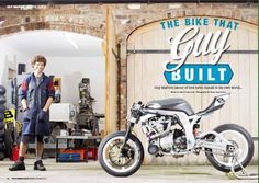 Guy Martin Bike
