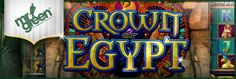 Play IGT's Crown of Egypt Slot at Mr Green Casino: http://www.casinomanual.co.uk/play-igts-crown-egypt-slot-green-casino/