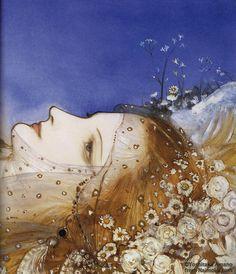 Final Fantasy Illustrator Yoshitaka Amano Made Sleeping Beauty And Other Fairy Tales Look Amazing