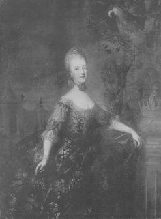 Marie Antoinette painted by the German School, 1768 (age 13)