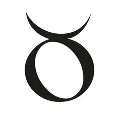 The Taurus glyph represents the horns of a bull symbolising the ability to gather, receive and stabilise energy. The bull, an ancient symbol of fertility and abundance, was a central figure in fertility rites and initiations, and also symbolised the victory of humanity over its animal nature.