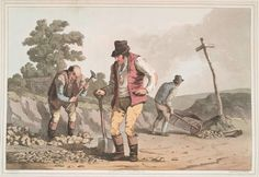 Stone Breakers on a Road, 1814