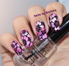 Nails by Malinka: BPS plate Harunouta L007