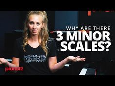 Why Are There 3 Different Minor Scales? Music Theory Lessons, Piano Lessons, Minor Scale, Piano Scales, Piano Teaching, The Clash, Music Education, Piano Music, Secret Life