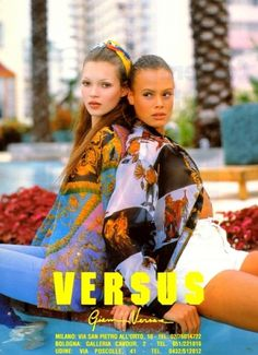 Kate, Stella, Carla! 10 of Versus Versace's Most Iconic Ads From the '90s - Gallery - Style.com