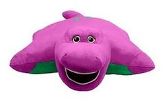 Pillow Pets - Barney the Dinosaur for avas birthday