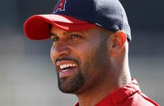 Albert Pujols ...Angels - You will always be a Cardinal to this St. Louis fan.  Even if you do have an A on your cap.
