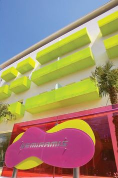 The Semiramis Hotel in Athens, designed by avant-garde interior architect Karim Rashid  www.mediteranique.com/hotels-greece/athens/semiramis-hotel/
