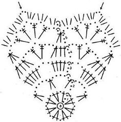 schematy bombek by siwa Crochet Snowflake Pattern, Christmas Crochet Patterns, Crochet Motifs, Crochet Snowflakes, Crochet Diagram, Christmas Snowflakes, Crochet Patterns Amigurumi, Christmas Balls, Crochet Doilies