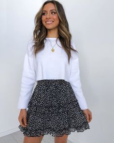 Petal pup on new! tap to shop the clarita skirt online now petalandpup 12 frauen nirvana karamellfarbe Cute Casual Outfits, Girly Outfits, Mode Outfits, Cute Summer Outfits, Spring Outfits, Cute Skirt Outfits, Winter Outfits, Converse Outfits, Tumblr Outfits