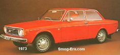 Volvo 142 1973 Not a great picture, but that orange!