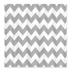Gray and White Chevron Stripes Shower Curtain on CafePress.com This would be perfect for the new bathroom, love the clean colors and cute pattern :)