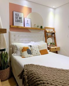 Fall Bedroom Decor, Room Design Bedroom, Home Bedroom, Home Decor, Cute Bedroom Ideas, Awesome Bedrooms, Beige Room, Small House Interior Design, Room Inspiration