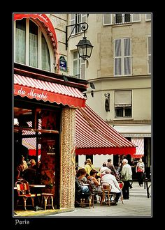 Café Life in Paris - Paris, Ile-de-France