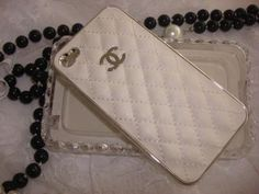 White Chanel iPhone Case! I wish! <3