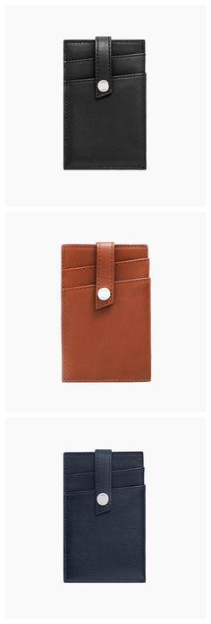 WANT Les Essentiels Kennedy money-clip wallet