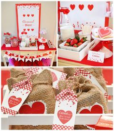 Cereal-ously Sweet Valentine | Valentine's Day Breakfast Party via Kara's Party Ideas KarasPartyIdeas.com Cake, decor, printables, favors, desserts, food and more! #valentine #valentinesdayparty #valentinesdaybreakfast #breakfastparty #valentinebreakfast #karaspartyideas #partydesign #partystyling