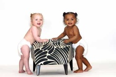 A mixed-race British mom gave birth to twins recently - one of each. Not a boy and a girl. Two girls - one black, the other white. The odds of such a birth are about a million to one, experts said. It was a shock when I realized that my twins were two different colors, Kylie Hodgson, 19, told Londons Daily Mail. But it doesnt matter to us - they are just our two gorgeous little girls.