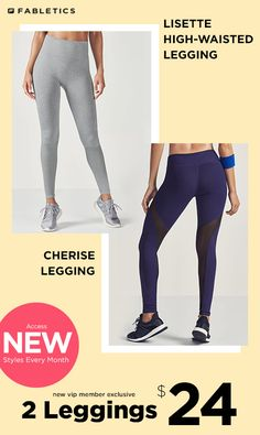 Our Breathable, Sweat-Repelling Leggings are 2 for $24 for New VIP Members! Take Our Quick 60 Second Style Quiz to Get This Limited Time Offer!