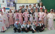 Hoy celebramos San Isidro en Infantil y la clase de las Cometas nos hemos puesto nuestras mejores galas y aunque hace frío y chispea no se ...