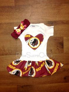 One of the cutest #Redskins outfit!