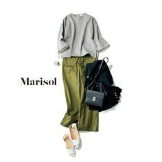 Minimal Fashion, Work Fashion, Office Fashion, Japanese Outfits, Japanese Fashion, Casual Outfits, Fashion Outfits, Womens Fashion, Japan Outfit