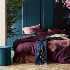 Home Republic - Vintage Washed Linen Duvet Cover - Bedroom Duvet Covers & Bed . - Home republic – vintage washed linen duvet cover – bedroom duvet covers & duvets – adairs onl -