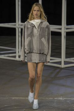 I love almost everything from the Alexander Wang Spring 2014 Ready-to-Wear Collection (Slideshow on Style.com) but this pullover dress, I could live in